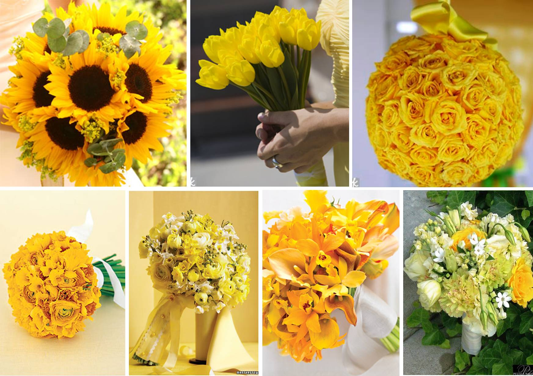 Yellow flowers for summer wedding simple and chic yellow white gallery for gt yellow summer wedding flowers izmirmasajfo