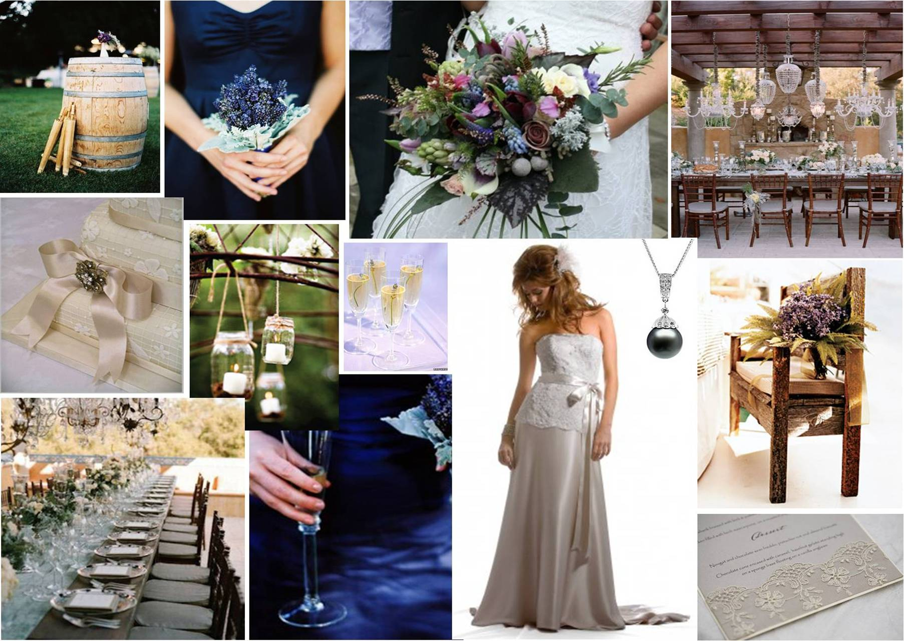 Country Vintage Wedding Ideas Photograph